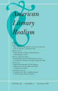 <i>The Mediating Nation: Late American Realism, Globalization, and the Progressive State</i> by Nathaniel Cadle (review)