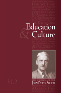 Getting It Right from the Beginning: Imagination and Education in John Dewey and Kieran Egan