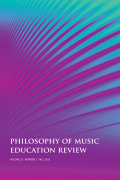 Consistent and Persistent, Distinctive and Evolving: Musical Experience as an Intellectual Human Condition