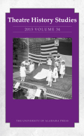 <i>The Politics of the Pantomime: Regional Identity in the Theatre, 1860–1900</i> by Jill A. Sullivan (review)