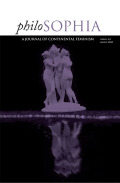 <i>The Feminine Symptom: Aleatory Matter in the Aristotelian Cosmos</i> by Emanuela Bianchi (review)