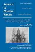 Garveyism in Haiti during the US Occupation