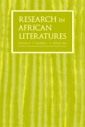 The African Atlantic: West African Literatures and Slavery Studies