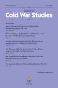 "Exile Island: Xinjiang Refugees and the ""One China"" Policy in Nationalist Taiwan, 1949–1971"