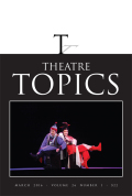 The Courage to Teach and the Courage to Lead: Considerations for Theatre and Dance in Higher Education