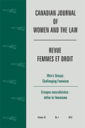<i>The Trouble with Marriage: Feminists Confront Law and Violence in India</i> by Srimati Basu (review)