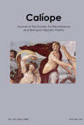 <i>Love Poetry in the Spanish Golden Age: Eros, Eris and Empire</i> by Isabel Torres (review)