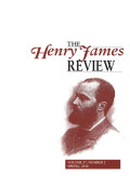 Eyeing the Beholder: Henry James's Immaterial Portrait of a Lady