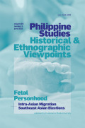 <i>Migration Revolution: Philippine Nationhood and Class Relations in a Globalized Age</i> by Filomeno V. Aguilar Jr. (review)