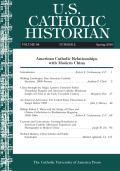 Shifting Landscapes: Sino-American Catholic Identities, 1900–Present