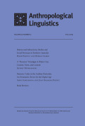 <i>Word Formation in South American Languages</i> ed. by Swintha Danielsen, Katja Hannss, and Fernando Zúñiga (review)