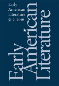 <italic>Worlding America: A Transnational Anthology of Short Narratives before 1800</italic> ed. by Oliver Scheiding and Martin Seidl (review)