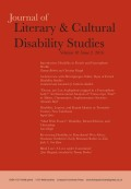 Disability in French and Francophone Worlds