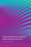 To Name or Not to Name?: Social Justice, Poststructuralism, and Music Teacher Education