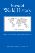 <italic>Climate, Science, and Colonization: Histories from Australia and New Zealand</italic> ed. by James Beattie, Emily O'gorman, and Matthew Henry, and: <italic>Climate Change and the Course of Global History: A Rough Journey</italic> by John L. Brooke, and: <italic>Sea of Storms: A History of Hurricanes in the Greater Caribbean from Columbus to Katrina</italic> by Stuart B. Schwartz (review)