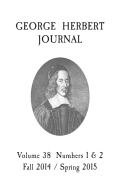 George Herbert and the Jews: Purloin'd Blessings and Self-Condemnations