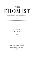 Thomism and Modern Science: Relationships Past, Present, and Future
