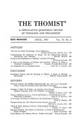 "<i>The Trinity: An Analysis of St. Thomas Aquinas' Expositio of the ""De Trinitate"" of Boethius</i> by Douglas C. Hall (review)"