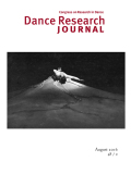 <italic>Multiplicity, Embodiment and the Contemporary Dancer: Moving Identities</italic> by Jennifer Roche (review)