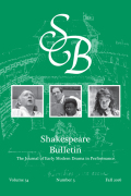 <italic>Interlinguicity, Internationality, and Shakespeare</italic> ed. by Michael Saenger (review)