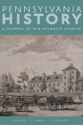 <italic>The Ragged Road to Abolition: Slavery and Freedom in New Jersey, 1775–1865</italic> by James J. Gigantino II (review)