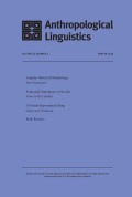 <italic>A Grammar of Guìqióng: A Language of Sichuan</italic> by Li Jiang (review)