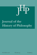 <i>Grasp and Dissent: Cicero and Epicurean Philosophy</i> by Stefano Maso (review)
