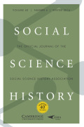 Historical Geographic Information Systems and Social Science History