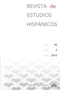<i>Colonial Itineraries of Contemporary Mexico. Literary and Cultural Inquiries</i> ed. by Oswaldo Estrada and Anna M. Nogar (review)