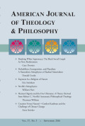 Human Dignity and the Five Ultimates: A Theory Derived from Robert C Neville's Systematic Philosophical Theology