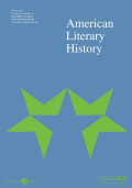 American Literary History cover