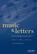 <i>Bach's Numbers: Compositional Proportion and Significance</i> by Ruth Tatlow (review)