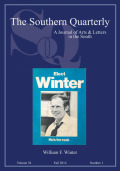 <i>William Winter and the New Mississippi: A Biography</i> by Charles C. Bolton (review)