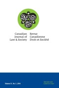 Aboriginal Knowledges in Specialized Courts: Emerging Practices in Gladue Courts