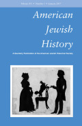 "<i>""How Come Boys Get to Keep Their Noses?"": Women and Jewish American Identity in Contemporary Graphic Memoirs</i> by Tahneer Oksman (review)"