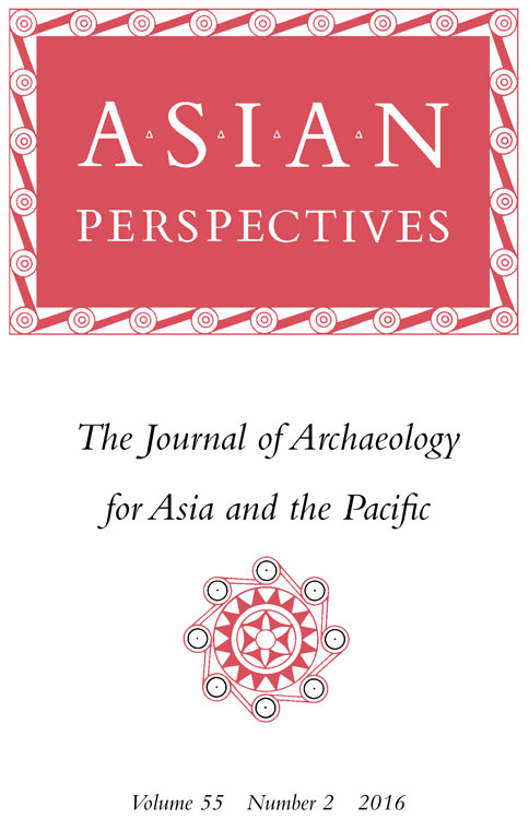 New issue of Asian Perspectives-Volume 55, Number 2, 2016
