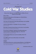 <i>The Cold War U.S. Army</i> by Ingo Trauschweizer (review)