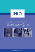 <i>Childhood, Youth and Emotions in Modern History: National, Colonial and Global Perspectives</i> ed. by Stephanie Olsen (review)