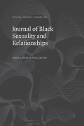 It's My House and I Live Here: Using Autoethnography to Investigate the Spaces Available for Black Male Sexual Exploration