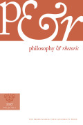Philosophy & Rhetoric cover