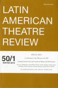 <i>Neoliberalism and Global Theatres: Performance Permutations</i> ed. by Laura D. Nielsen and Patricia Ybarra (review)