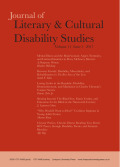 <i>Disability in Comic Books and Graphic Narratives</i> eds. by Chris Foss, Jonathan W. Gray, and Zach Whalen (review)