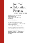 Financial Crisis Management in Higher Education: Responses by 20 Private Colleges and Universities to the 2007–2009 Financial Crisis