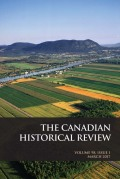 <i>Why Did We Choose to Industrialize? Montreal, 1819–1849</i> by Robert C.H. Sweeny (review)