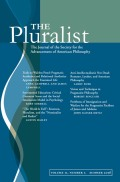 <i>Democracy and Leadership: On Pragmatism and Virtue</i> by Eric Thomas Weber (review)