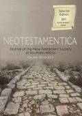 Reflections on More Than Four Decades of the New Testament Society and <i>Neotestamentica</i>
