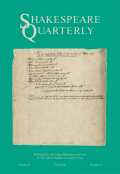 <i>Women and Shakespeare in the Eighteenth Century</i> by Fiona Ritchie (review)