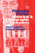 Cultures of Empire, Nation, and Universe in Pres. José P. Laurel's Political Thought, 1927–1949