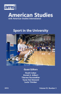 Studying Sport in the University: Some Problematics and Problems