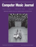 Composition and Perception in Spatial Audio